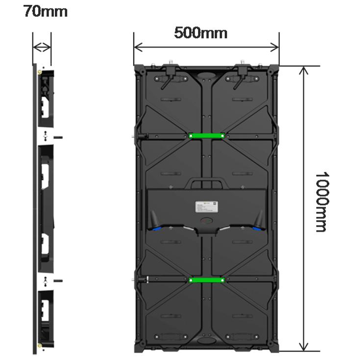 CS系列租赁LED显示屏