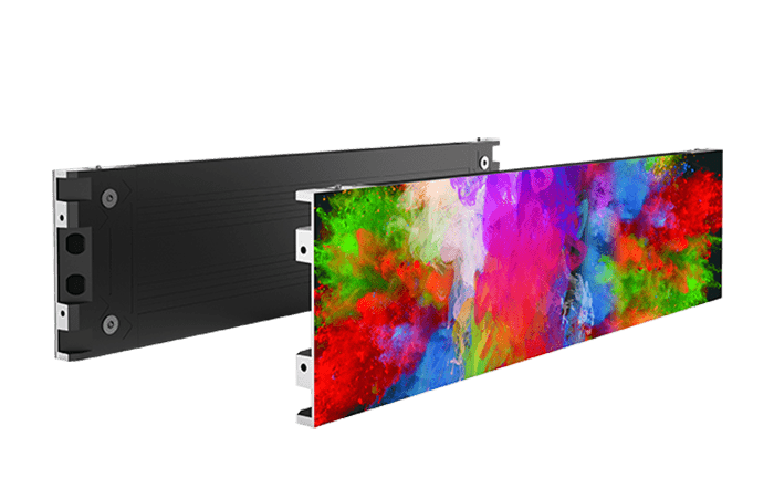Ultra thin, Corner splicing,LED commercial display