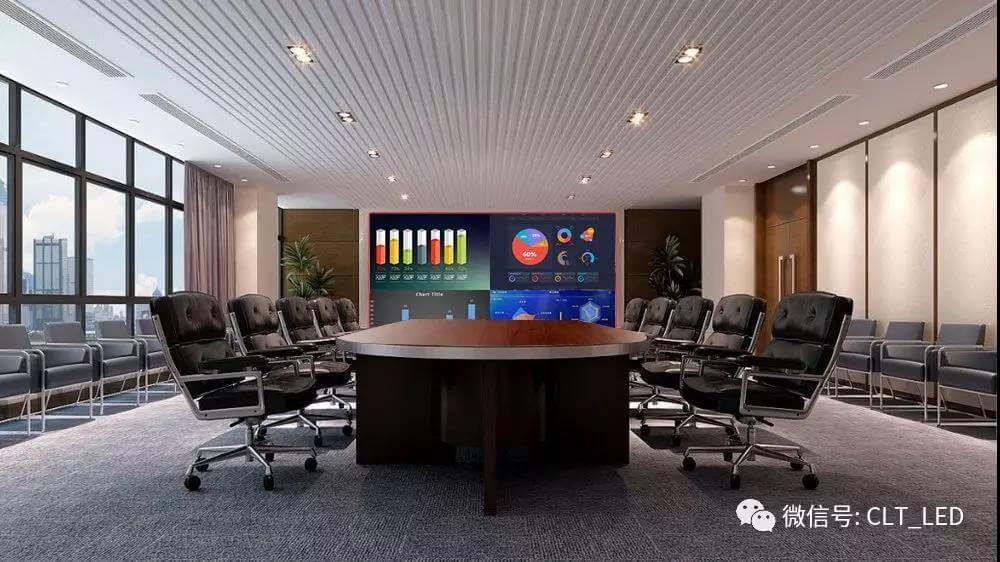 CLT科伦特第三代智慧商显X-Board会议屏全球首发