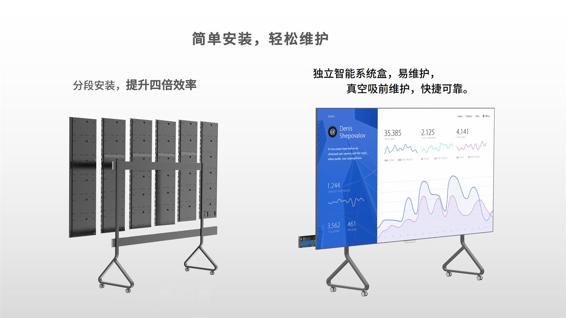 全球首创超薄全面屏一体机E-Board